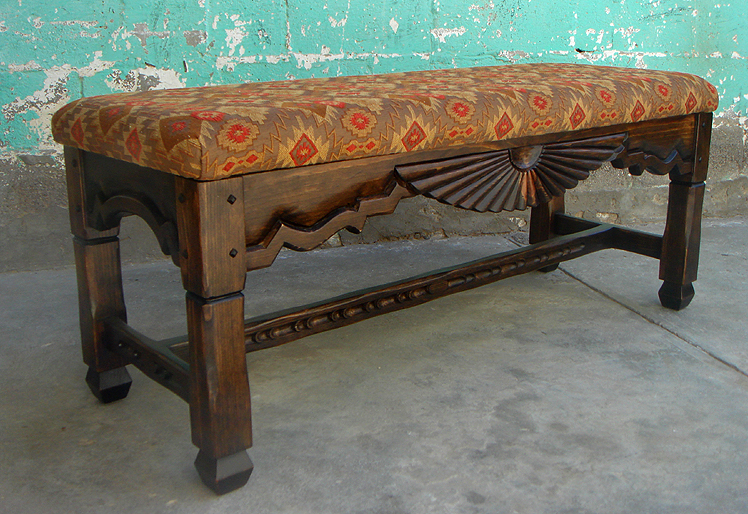 Backless Benches Indoor Part - 44: Aurora Special Backless Bench Pictured Dark Walnut Stain