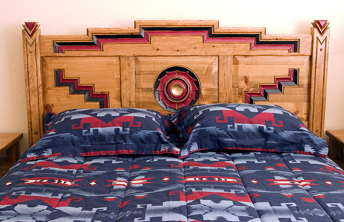 Anasazi Southwestern Bedroom Furniture Collection