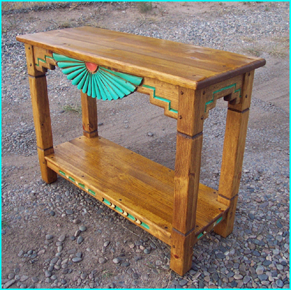 Aurora Southwest Sofa Table
