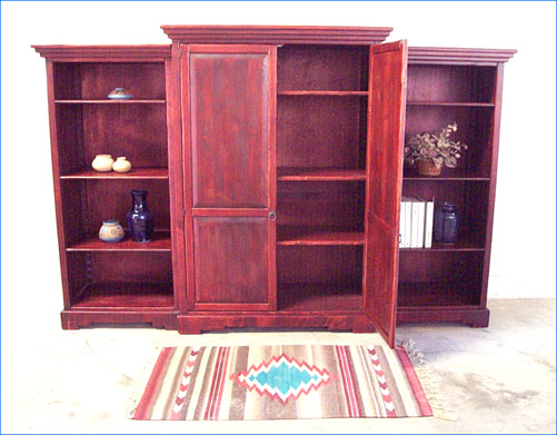Southwestern Furniture Custom Southwest Bookcases