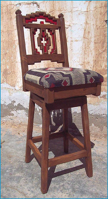 Southwestern New Mexican Barstools Bar Furniture