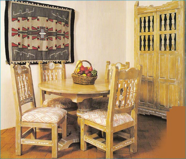 Southwest Dining Furniture, Sets, Chairs, China Cabinets