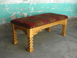 Great Southwest, Custom Table Ottoman / Bench