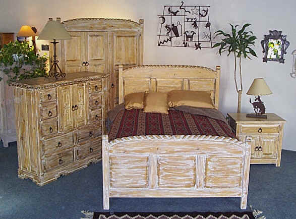 lariat southwestern bedroom furniture collection