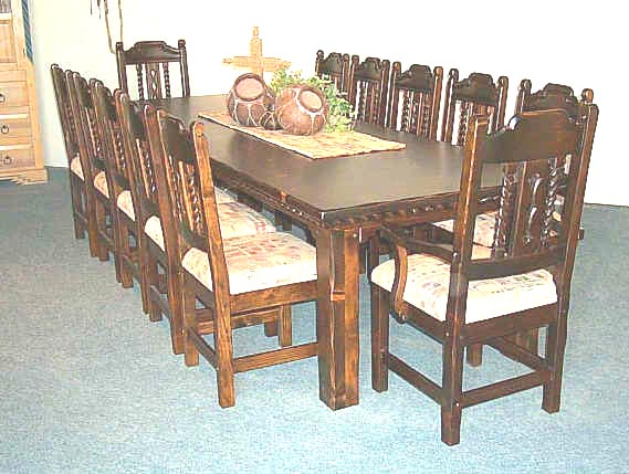 Mission Dining Room Furniture Collection Set
