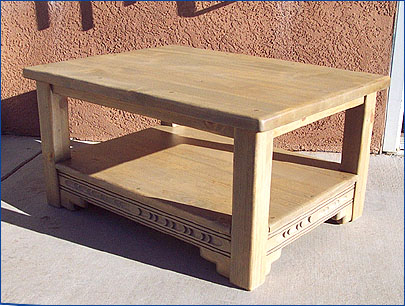 New Mexico Coffee Table With Shelf ...