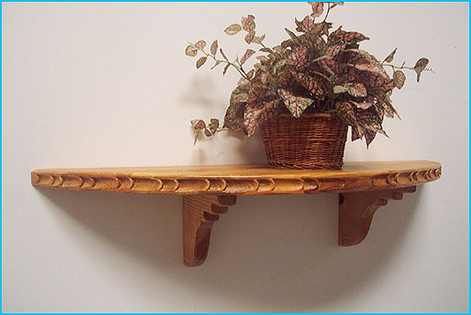 New Mexico, Southwest Style  Half Circle Shaped Shelf