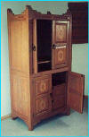 New Mexico Trastero Armoire Sandblasted Doors Number 2