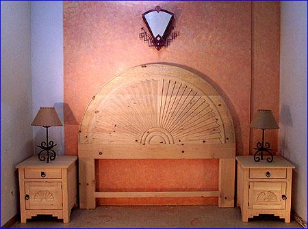 Southwest Bedroom Furniture Custom Beds Headboards Dresser