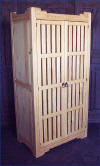 New Mexico Trastero-Armoire All Slat Doors Number 5