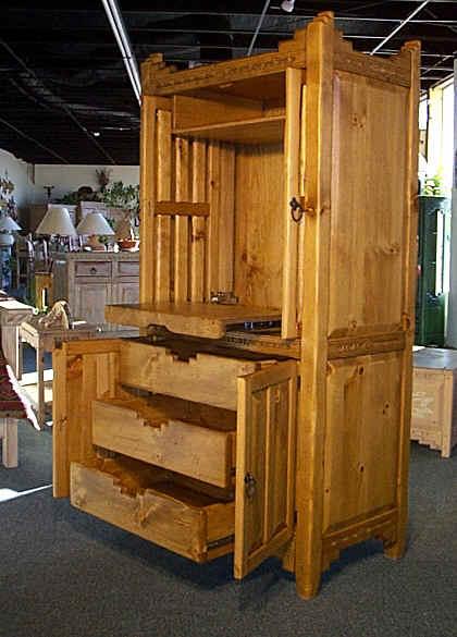 Southwestern Furniture New Mexico Style Entertainment