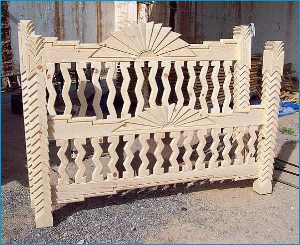 Navajo, Custom Southwest Style Bedroom Set