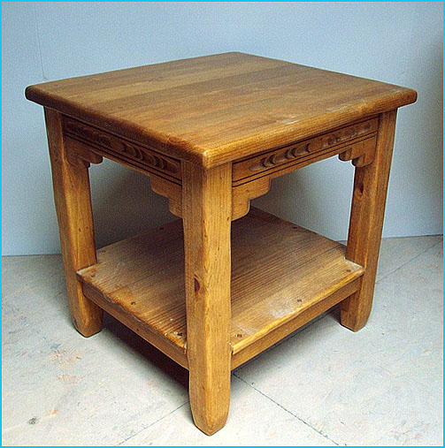 New Mexico End Table No Drawer