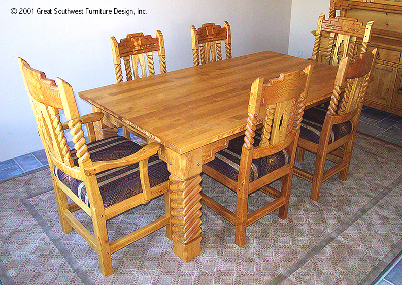 Sandia Southwest Dining Table