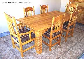 Sandia Southwest Dining Furniture
