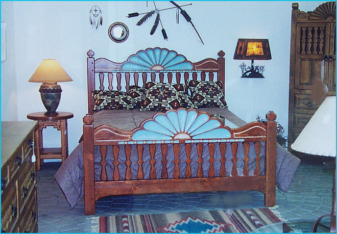 Santa Ana Southwest Style Bedroom Set