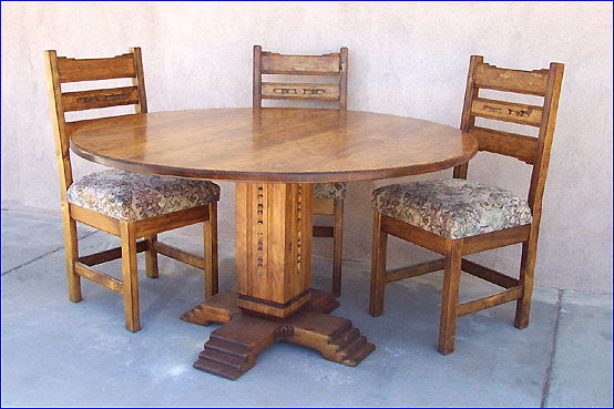 Sedona Southwest Style Dining Set Tables Chairs China