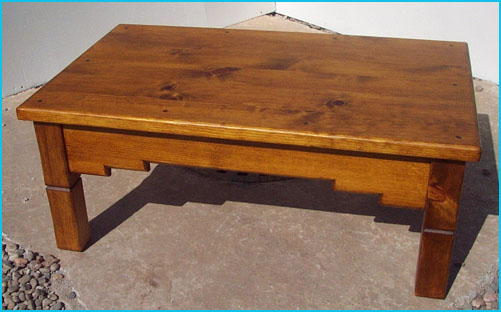 Southwest Furniture Southwestern Living Room Furniture - How to stain a coffee table