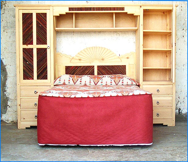 Salt Cedar Twig Custom Bedroom Furniture Salt Cedar Twig Inserts On Wall Bedroom Unit. Custom Bedroom Furniture. Home Design Ideas