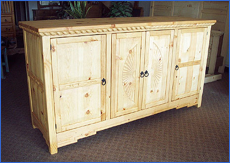 Southwestern Furniture Mission Style Entertainment Centers