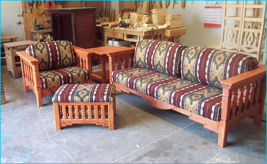 aurora living room set upholstered with zia mesa sunray