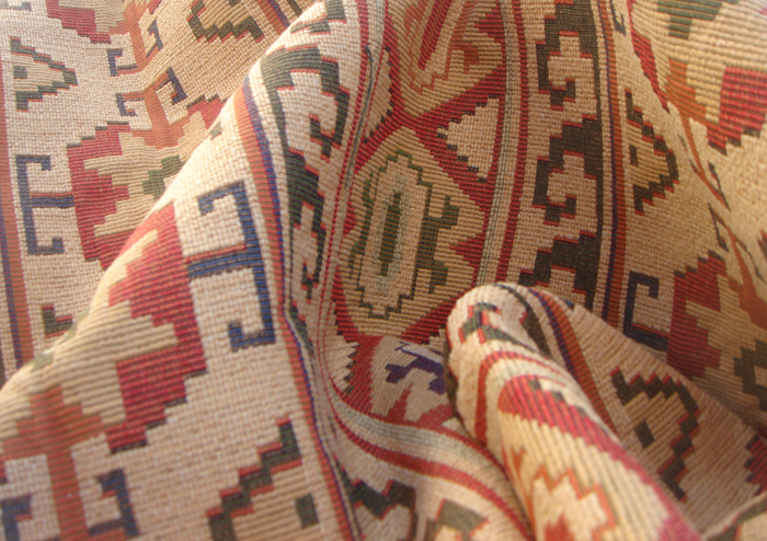 Concho Adobe Southwest Upholstery Fabric