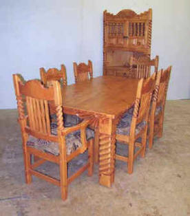 Great Southwest Dining Set Alvino