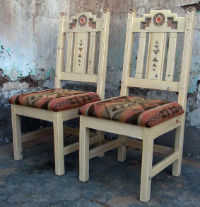 Anasazi Custom Oversized Side Chairs