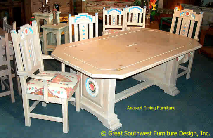 Anasazi Southwest Dining Furniture