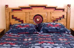 Anasazi Headboard Detail