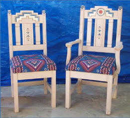 Anasazi Dining Arm & Side Chairs