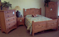 Anasazi Bedroom Set, Woodridge Stain