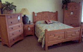 Anasazi Bedroom Set, Woodrige Stain