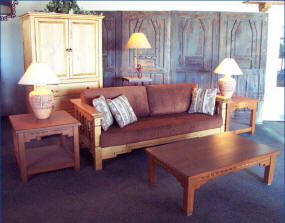 Aurora Sofa Featuring New Mexico Coffee & End Tables