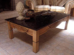 Aurora Coffee Table With optional Marble Top