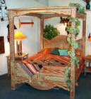 "Southwestern Canopy Bed ""Aurora Special"""