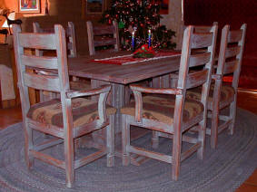 Corrales, Southwest Dining Set