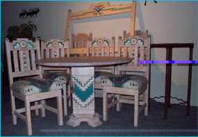 Cruz Table With Anasazi Dining Chairs