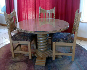 Great Southwest Round Dining Set