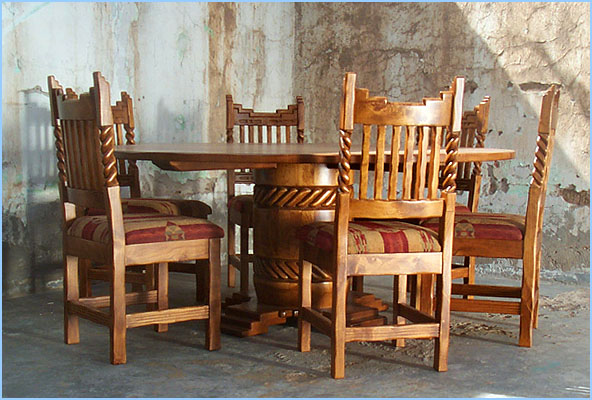 Good Southwest Dining Set La Corona