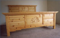 Mimbres Bedroom Furniture Collection