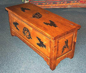 Mimbres Blanket Chest 1