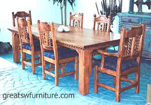 Mission Southwest Dining Furniture