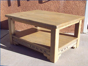 New Mexico Coffee Table With Shelf
