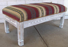 Corrales Bench, Upholstered