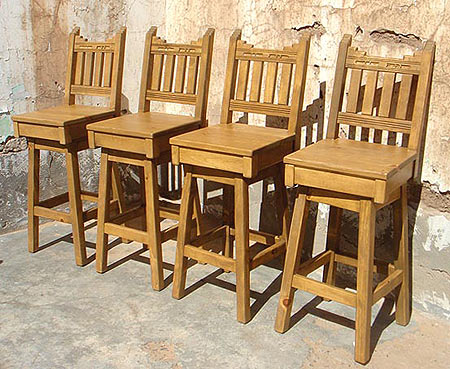 New Mexico Barstools NMBS Southwestern New Mexican Barstools Bar Furniture