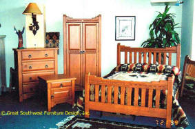 "Southwest Style Complete Bedroom Set ""New Mexico"""