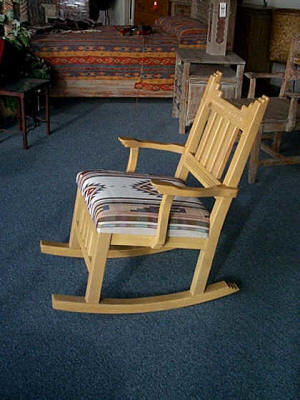 New Mexico Rocking Chair II, Cushion Seat