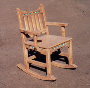 New Mexico rocking Chair I