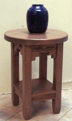 New Mexico Accent Table Round Top